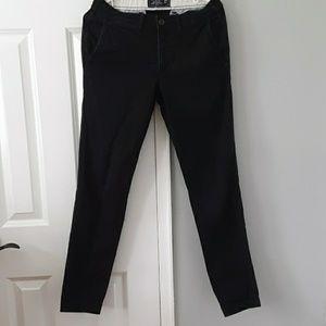 Abercrombie super slim black 28×32 pants